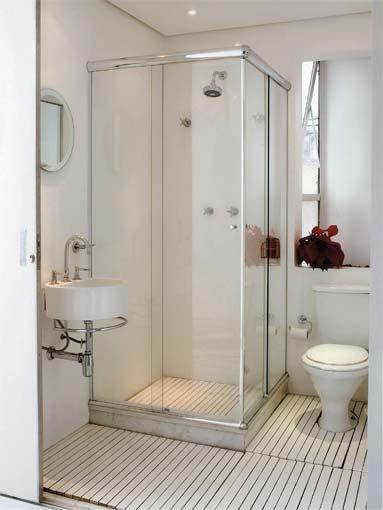Aprenda a Construir e Reformar Novembro 2010 # Banheiro Pequeno Tinta