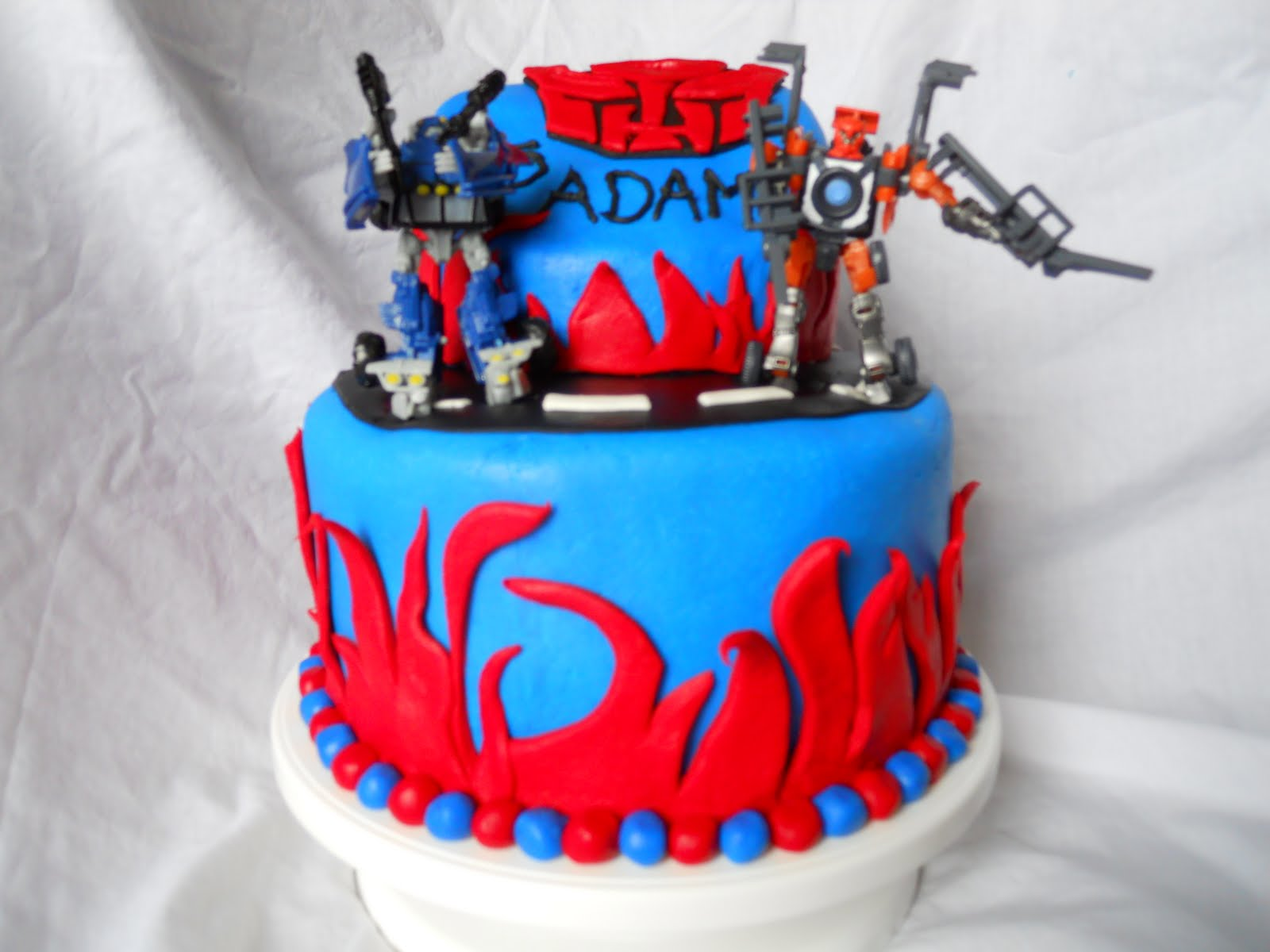 birthday cake transformers