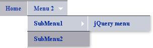 Add third level submenu with link for jQuery multi level menu