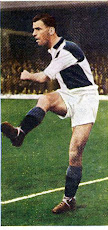 Geoff BRADFORD Card 31 in a set of famous footballers 1957.