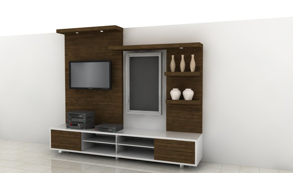 Desain lemari tv auto design tech for Kitchen set olympic harga
