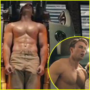 Chris evans the new cap n america epic transformation bodybuilding