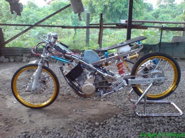 Modif Mesin Motor Untuk Balap Liar Suzuki Satria fu150 title=