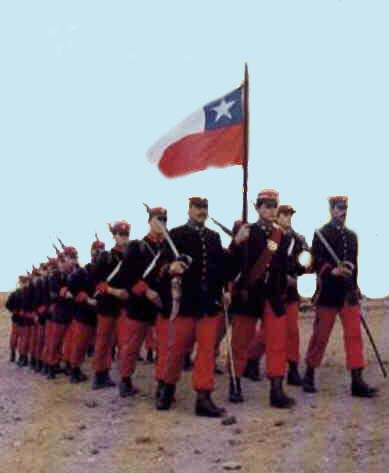 guerra pacifico chile: