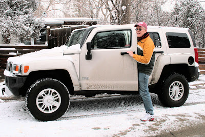 Happy and His Hummer