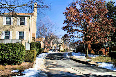Winter on Bucknell Terrace