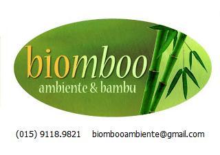 BIOMBOO Ambiente & Bambu    Contato: Eugenio B. Paixão - Arquiteto (015)9118.9821