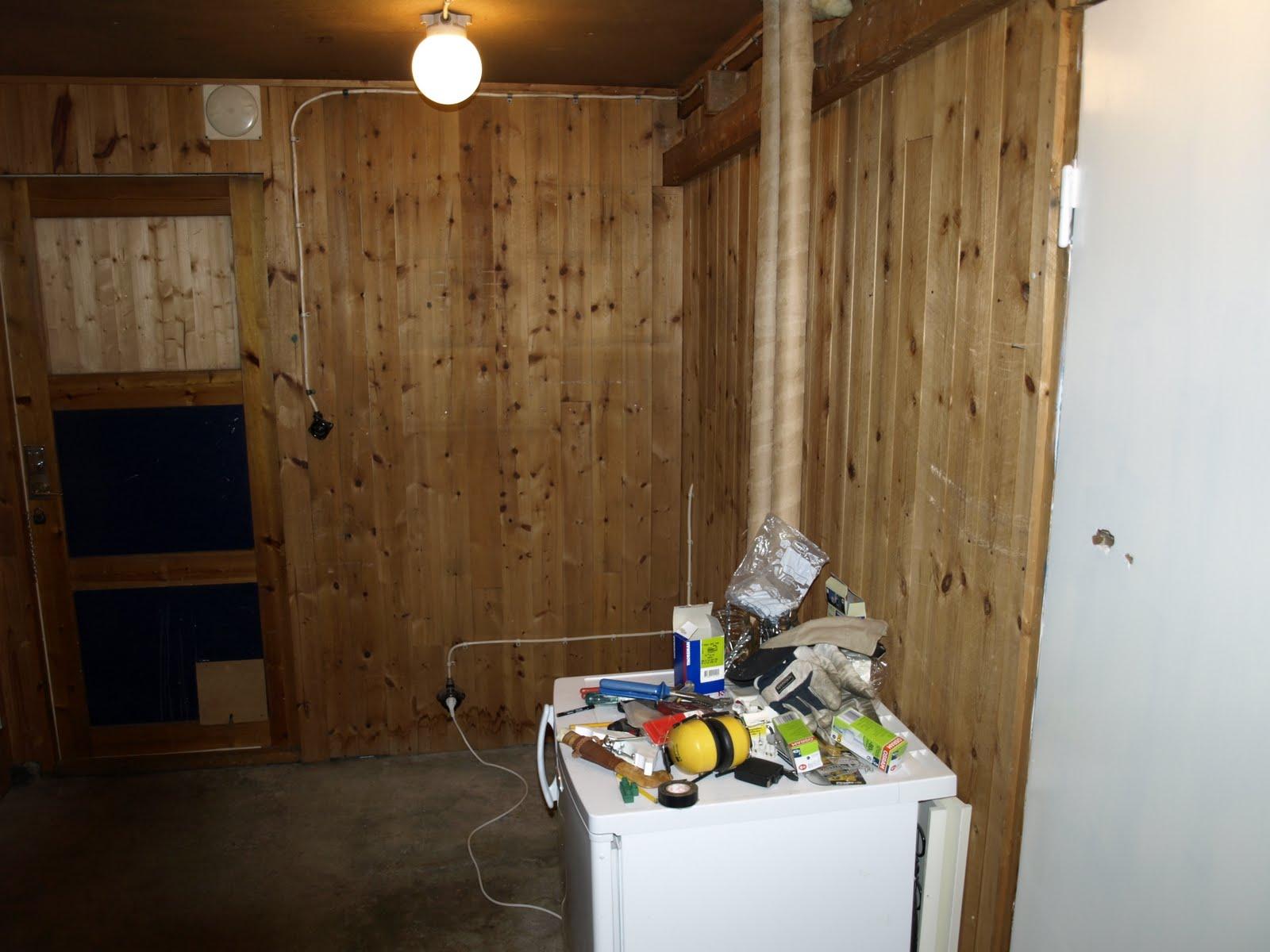 Engelska villan: Tvättstugan