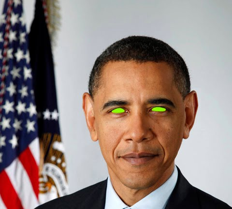 Obama space alien