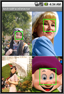 Android FaceDetector