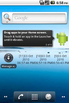 The simple Home Screen App Widget