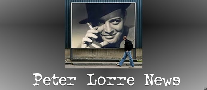 The Peter Lorre News Blog
