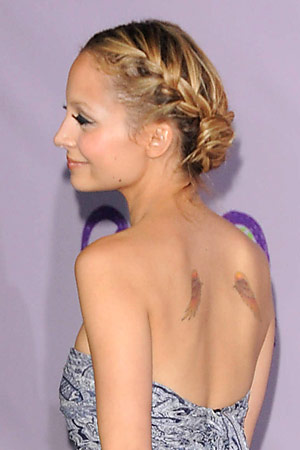 Lauren Conrad Braided Bun Real Brides, Real Hairstyles: Messy Updo's Spring