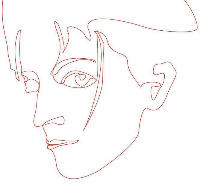 Portret Nell 1 lijn