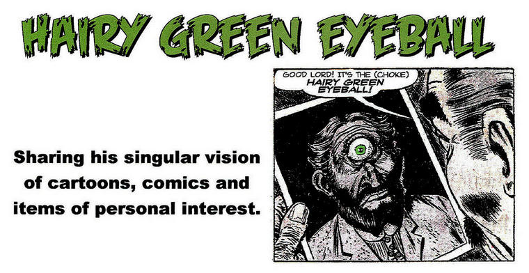 Hairy Green Eyeball