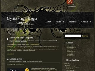 10 Template Blogger SEO Friendly 2012