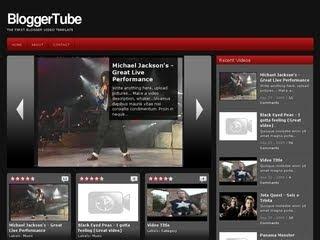 Bloggertube like youtube video blogger template zoomtemplate bloggertube like youtube video blogger template maxwellsz
