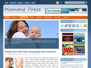 free+mamma+press+blogger+template+download