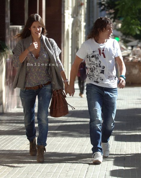 malena costa puyol. Carles Puyol and Malena Costa