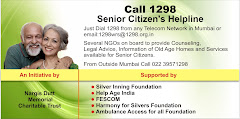 &#39;1298&#39; Mumbai Senior Citizens Helpline