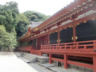 鶴岡八幡宮本宮回廊