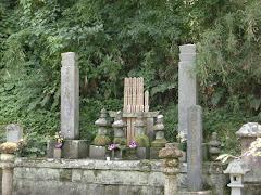 比企一族の墓