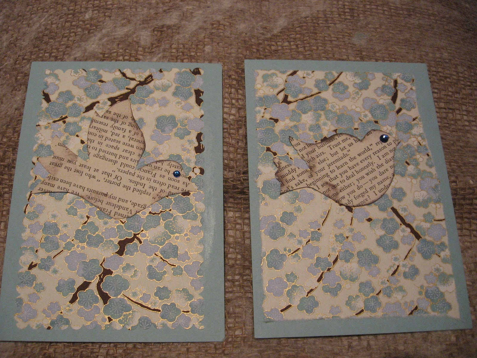 altered book studio.....: Christmas Cards 2010