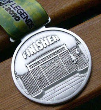 Eugene Half Marathon Medal