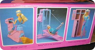 work-out barbie