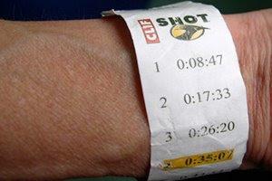 clif shot wristband
