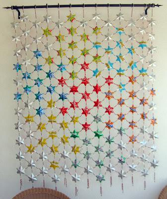 Comparte tus Ecoideas: Cortina de estrellas de lata