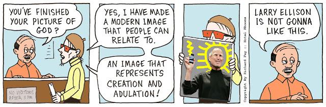 Steve Jobs As God