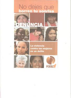 Ley  Organica sobre el derecho delas mujeres a una vida libre de violencia