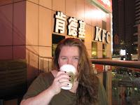 Shanghai Night at Starbucks