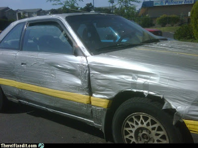 Any good body guys out there? Duct+Tape+Car