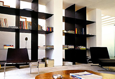 modern bookcase shelves by Casa e Jardim