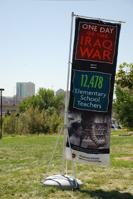 Cost War Exhibit in Cuernavaca Park, Denver