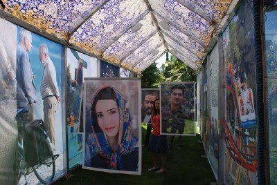 Photographs of Silk in Civic Center Park