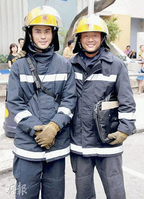 Burning Flame 3 Wong Hei and Kevin Cheng