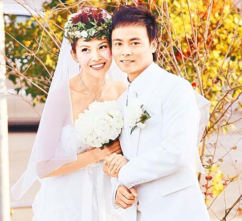 Ada Choi and husband Max Zhang