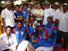 Chief Guest Dr.Essa With Winning Taekwondo Karachi Team for Sindh Games 2009