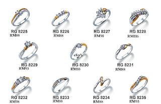 Bisnis Perhiasan Emas: Koleksi Surya Cincin Emas Putih
