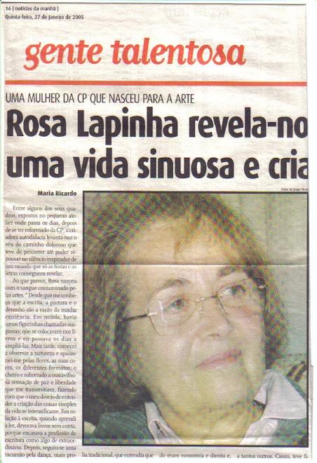 """Entrevista Jornal """"Diário de Notícias"""""""