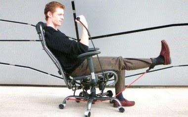 gymygym exercise chair - workout at office | inside wateen