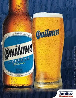 quilmes, the most popular beer in all of argentina. Drinks of Argentina