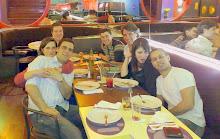 Blogueiros Bafônicos comendo a libanesa