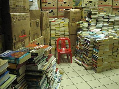Books for Less storeroom
