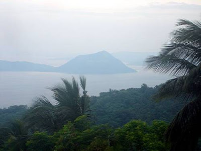 taal lake and volcano