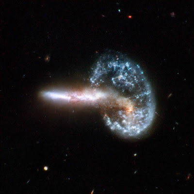galaxies colliding in the Ursa Major constellation