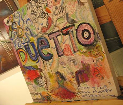 Duetto, an exhibit of artists Migs Villanueva and Anna de Leon